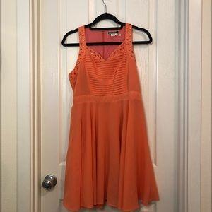 Fairytale like Coral Dress
